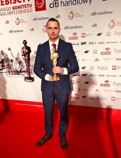 Andrzej Ochal - 1. Plebiscyt Polskiego Komitetu Paraolimpijskiego/fot. facebook Andrzej Ochal