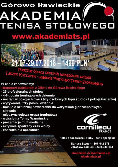 18a8a8af Tenis Stołowy, PingPong - www.pingpong.com.pl   Obóz Akademii Tenisa ...