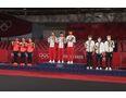 Podium Igrzysk Olimpijskich 2021 - kobiety/fot. WTT