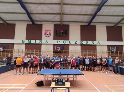 Mistrzostwa Polski Amatorów w tenisie stołowy - Poczesna 2021